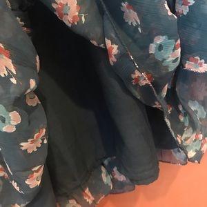 Billabong Dresses - Billabong Floral Bell Sleeve Dress